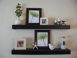 decorations magnificent corner floating wall shelves in white