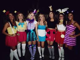 halloween party for teens alice in wonderland group costume holiday delights pinterest