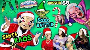 santa kaos boss battle lets play skylanders superchargers