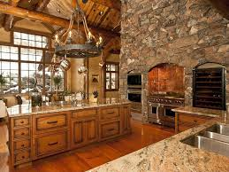 24 kitchens with jaw dropping cathedral ceilings luxury log