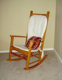 Rocking Chair Cusion Furniture Wicker Lowes Rocking Chairs With White Cushions And