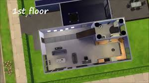 sims 4 bachelor pad house design youtube