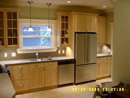 architecture cool galley kitchen decors with white cabinet set