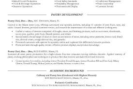 Pastry Chef Resume Examples by Head Pastry Chef Cover Letter