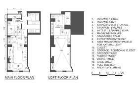 New York Apartments Floor Plans by Interior Loft Apartment Floor Plans With Striking Loft Apartment