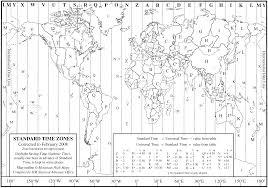 World Time Zones Map by World Time Zone Map U2022 Mapsof Net