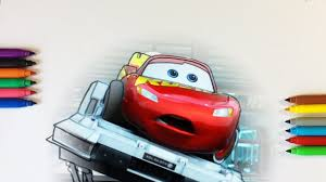 cars 3 lightning mcqueen testing coloring pages for kids with