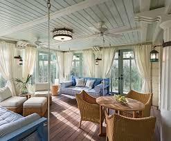 Beach Style House by 25 Cheerful And Relaxing Beach Style Sunrooms