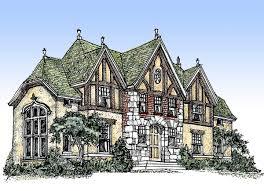 Massive House Plans by English Tudor Home Plans Webshoz Com