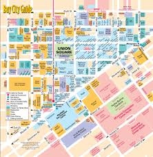 United States Map Delaware by San Francisco Union Square Map