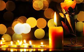 Beautiful Lighting 1920 X 1200 Candle Lighting Ambience Lights U0026 Bokeh Wallpaper