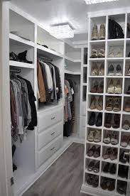 Space Saving Closet Ideas With A Dressing Table 75 Cool Walk In Closet Design Ideas Shelterness
