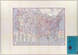 State Map United States by Road Map United States David Rumsey Historical Map Collection