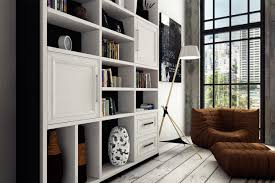 black and white apartment interior design for young couple