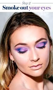 this mermaid halloween makeup is guaranteed to make a splash