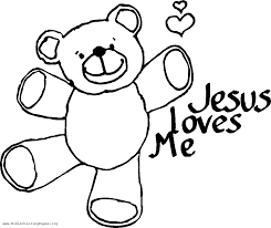 god love you coloring shee luxury god loves me coloring page