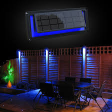 Solar Fence Lighting by Solar Fence Light 1 Watt Auto On And Off Over 3 Nights
