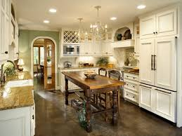 Kitchen Pantry Furniture Kitchen Room Large French Country Kitchen With Double Island