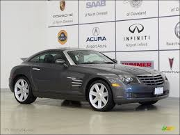 2005 machine grey chrysler crossfire limited coupe 59529220
