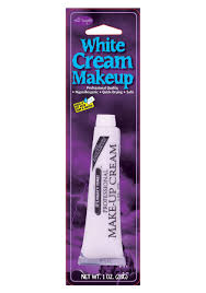 professional cream makeup white