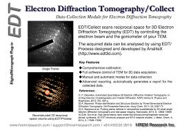 edt collect for digitalmicrograph