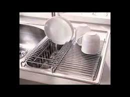 Kitchen Sink Dish Rack YouTube - Kitchen sink dish rack