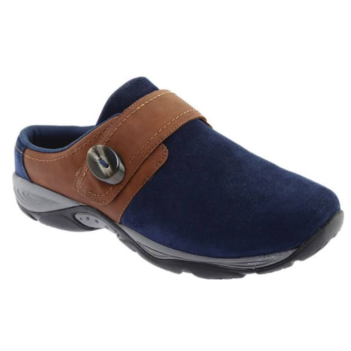 Easy Spirit Equip Flats Blue- Womens
