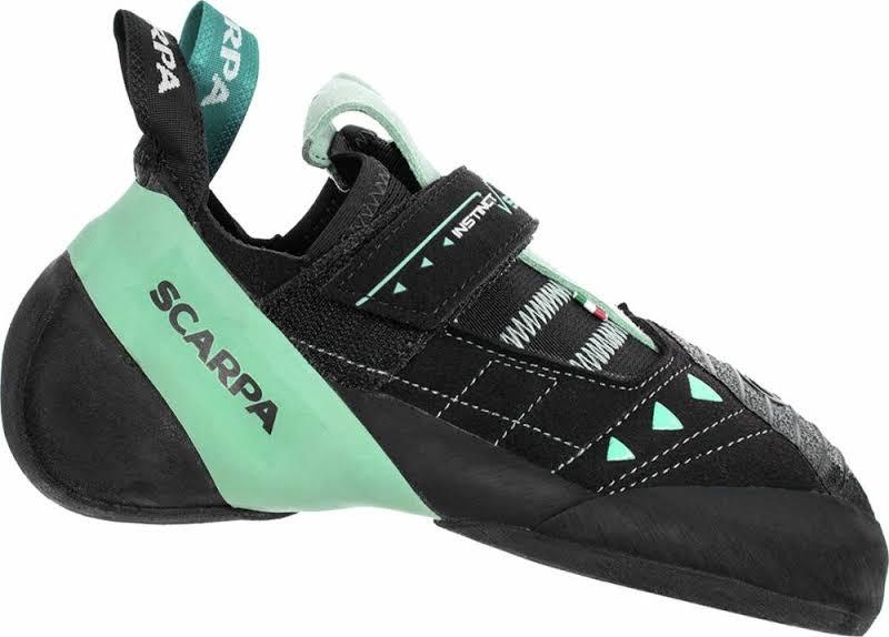 Scarpa Instinct VS Climbing Shoes Black/Aqua Medium 42 70013/002-BlkAqua-42