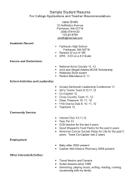 Example Of A Student Resume  cover letter student nurse sample       student