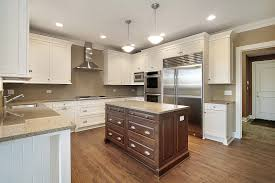 two tone kitchen cabinet home decoration ideas
