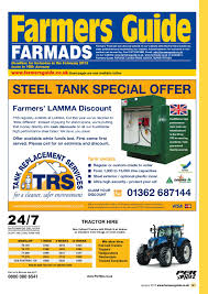 farmers guide classified section january 2013 by farmers guide