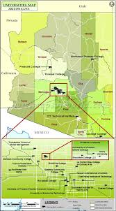 Map Az Universities In Arizona Best Colleges In Arizona Az Colleges And