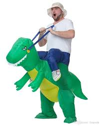2016 cheap dinosaur inflatable costume 200cm fancy dress costume