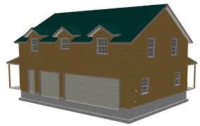 g445 plans 40 u0027x30 u2032 x 10 u2032 garage with bonus apartment plan free