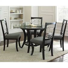 Steve Silver Dining Room Furniture Steve Silver Company Cayman 5 Piece Round Dining Table Set In