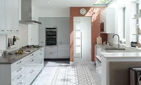 Kitchen Island Chair by Light Grey Kitchen Paint Cork Tile Floor Brown Wooden Kitchen