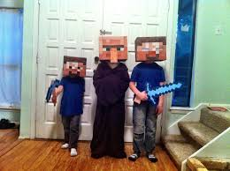 Halloween Minecraft Costume 56 Wearable Art Kids Images Minecraft