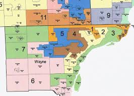 Us Map Michigan by Ballot Group Hoping To End Gerrymandering In Michigan Says State