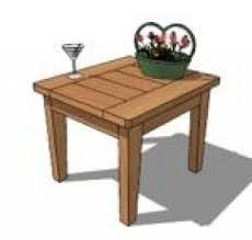 Free Woodworking Plans Round Coffee Table by Cedar End Tables Foter