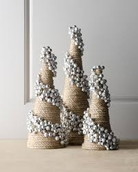 artisan jingle bell cone tree christmas crafts pinterest