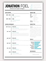 Examples Of Creative Resumes by Creative Resume Formats Resume 8 Modern And Creative Resume