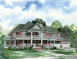 Wrap Around Porch Floor Plans Classic Southern Styling 59363nd Architectural Designs House