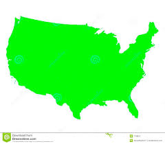 Blank Map Of The United States Of America by United States Of America Outline Map Royalty Free Stock