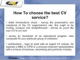 CV writing Gumtree