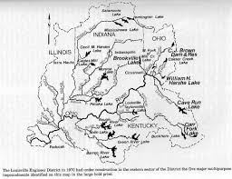 Map Of The Ohio River by History Of Rough River Kentucky