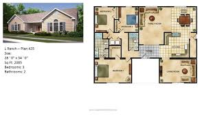 Home Floor Plans And Prices by Modular Home Ranch Plan 425 2 Jpg