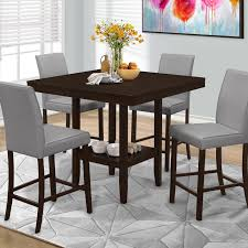 Palazzo Counter Height Dining Table Hayneedle - Counter height kitchen table