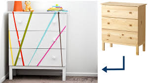 colorful ikea tarva dresser makeover for kids room anika u0027s diy life