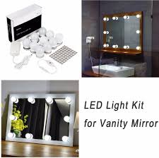 aliexpress com buy hollywood led vanity mirror lights kit for