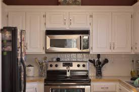 kitchen designs white cabinets with santa cecilia granite small